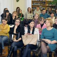 """Лекція """"Як зберегти натхнення у професії?"""" на запрошення Мовної школи """"ВІП-бджіл"""" (2016)"""